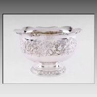 Gorham Repousse Sterling Silver Bowl