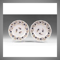 Pr. 1800-1820 Derby Porcelain Dinner Plates