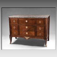 Early 19th C. French Marquetry Commode