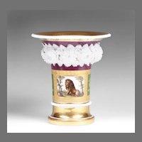 1800 French Niderviller Porcelain Vase