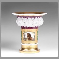 1800 French Niderviller Porcelain Vase