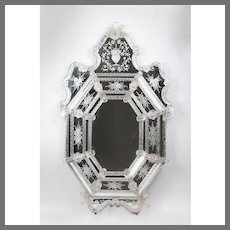 Early 20th C. Ornate Venetian Mirror