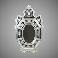 Early 20th C. Ornate Venetian Mirror