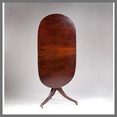 Regency Tilt Top Oval Table