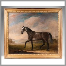 Oil Painting On Canvas of a Horse By John Ferneley