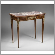 Late 19th C. Louis XVI Center Table