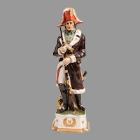 Capodimonte Porcelain Soldier of Napoleonic General