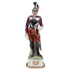 Capodimonte Porcelain Napoleonic Soldier