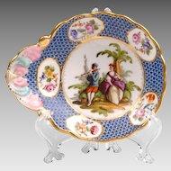 Helena Wolfsohn Porcelain Hand Painted Dish