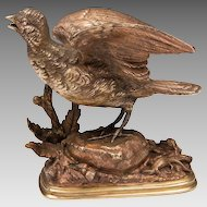 19th C. Bronze Sculpture by Paul Edouard Delabrierre