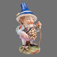 1806 – 1825 Derby Porcelain Mansion House Dwarf