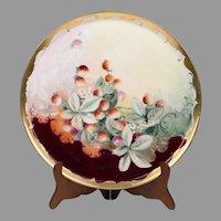 Large Tresserman & Vogt Limoges Porcelain Tray