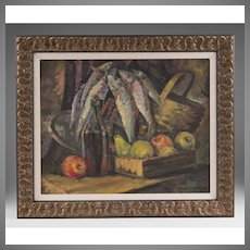 Russian Oil on Canvas In The Manner Of Konstantin Korovin