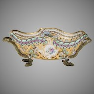 Exceptional Late 19th C. Reticulated KPM Center Bowl