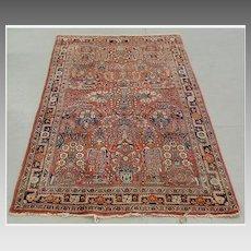 Semi Antique Persian Area Rug, Sarouk.