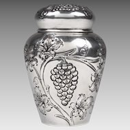 E. G. Webster & Sons Silver Plate Tea Caddy
