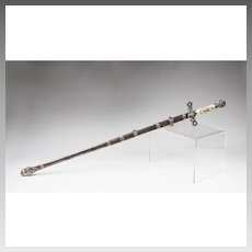 Pettibone Brothers Knights Templar Officer's Sword & Scabbard