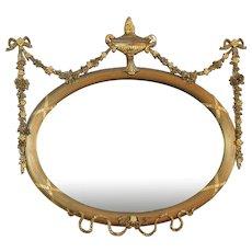 Period Adams Mantle Mirror