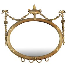 Period Adams Mantle Mirror