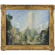 Oil Painting On Canvas By Thomas Edwin Mostyn
