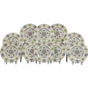 Set of 10 Royal Worcester Dinner Plates