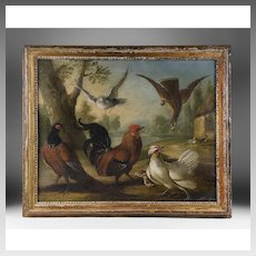 Marmaduke Cradock, Still Life Birds, Oil on Canvas