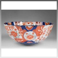 Meiji Period Japanese Imari Center Bowl