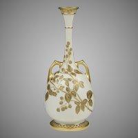 Royal Worcester Blush Thistle Vase, Form 858