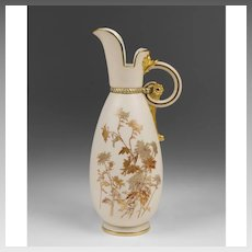 Royal Worcester Blush Ivory Pitcher, #1065