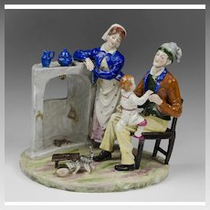 German Porcelain Figurine Of Couple