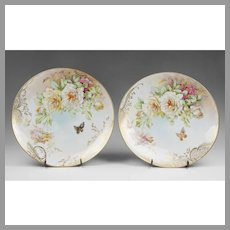 Pair of Limoges Chargers