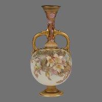 Doulton Burslem Louis Bilton Hand Painted Vase