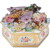 Jacob Petit Floral Encrusted Octagonal Bee Box