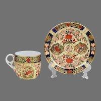 Royal Crown Derby Tea Cup & Saucer, Imari Pattern