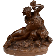 Italian Terracotta of Bacchante by Clodion