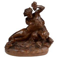 Italian Terracotta of Bacchante by Clodion