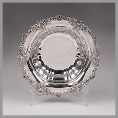 Silverplate Wallace Baroque Holloware Bowl