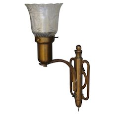 Ca 1930 Lumidor Add-A-Lite Wall Sconce Fixture