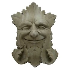 Carruth Studios 1989 Garden Smile Stone Plaque