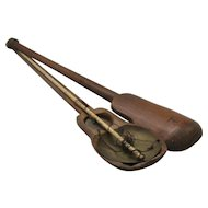 Late 1800s Chinese Opium Gold Scale Do'tchin in Bamboo Case