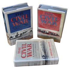 The Civil War A Narrative 3 Volume Set Shelby Foote
