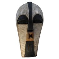 Early-Mid 1900s Female Kifwebe Mask Songye Tribe Congo