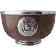 1931 Ranelagh Copper Silver Bowl Lawn Tennis Trophy Ireland