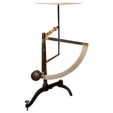 German Lever Pendulum Scale 18 oz Jacob Maul early 1900s