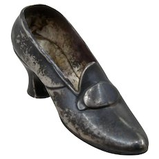 Ca 1900 Gorham Sterling Shoe Pin Cushion
