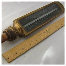 1894 H&M Tycos Large Bronze Automatic Regulator