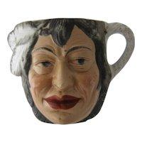 Ca 1930 Porcelain Indian Head Cup Shaving Mug German