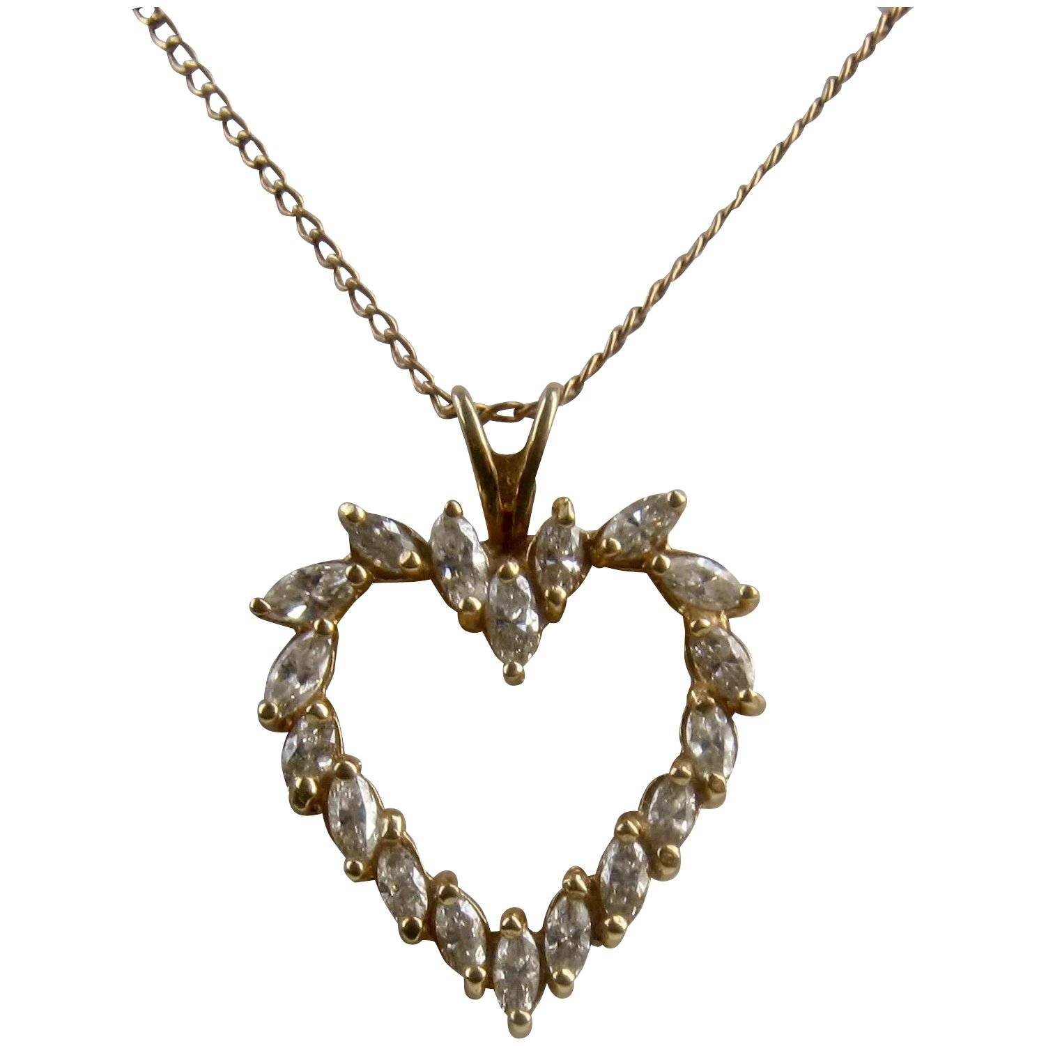 elegant necklace and marquise n expand item pendant white click to diamond full f gold