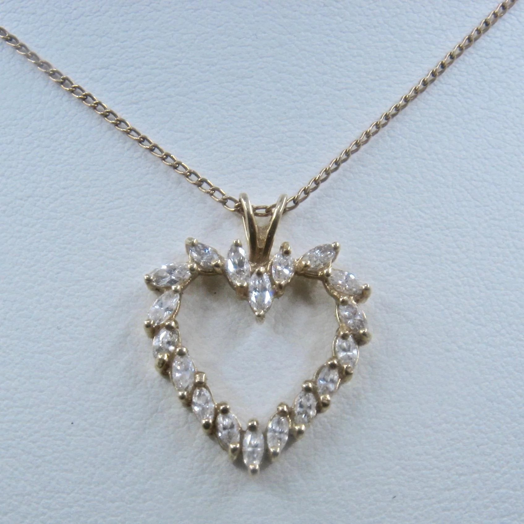 marquise natasha pendant diamond schweitzer mini gold products white necklace