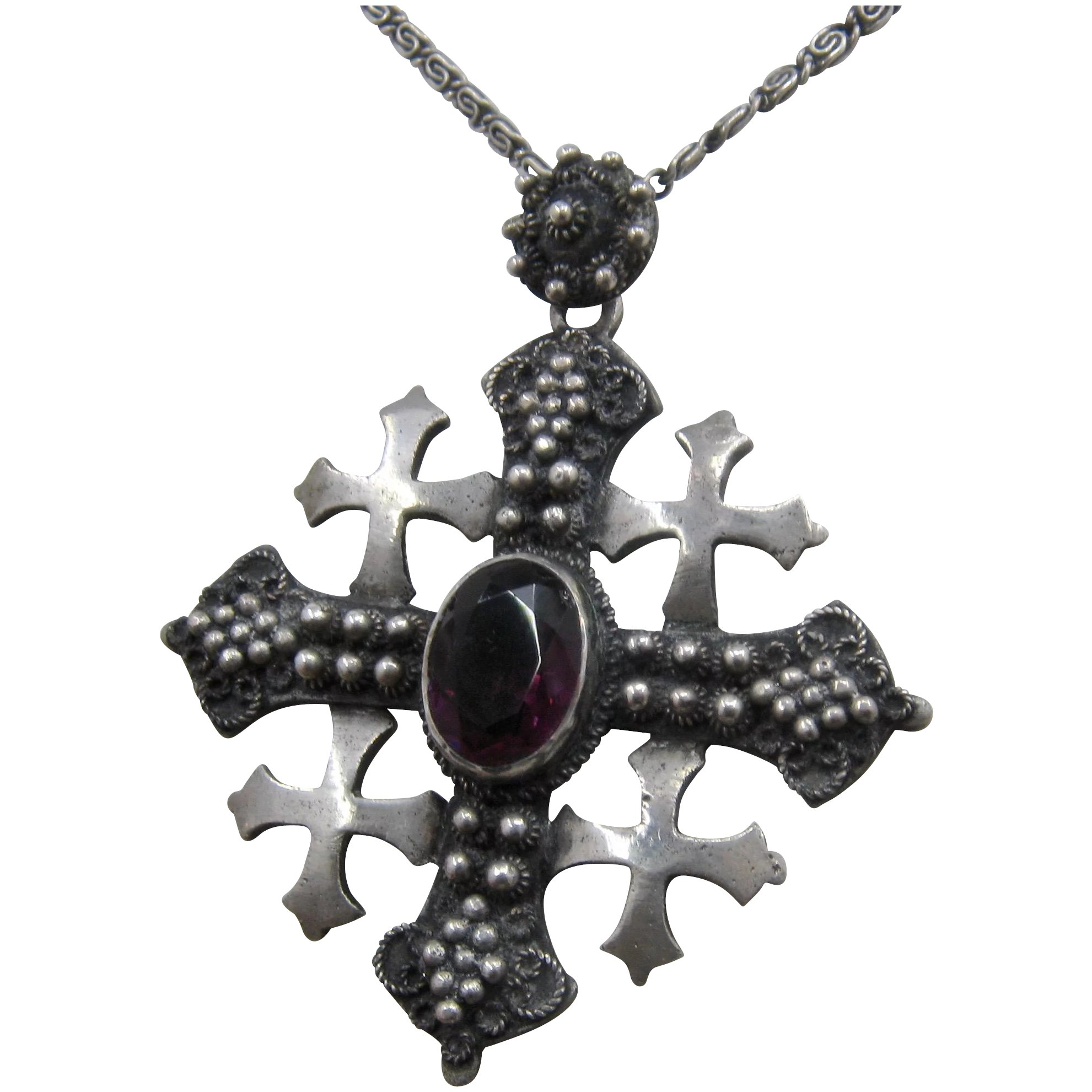 jerusalem pendant house cross christmas product